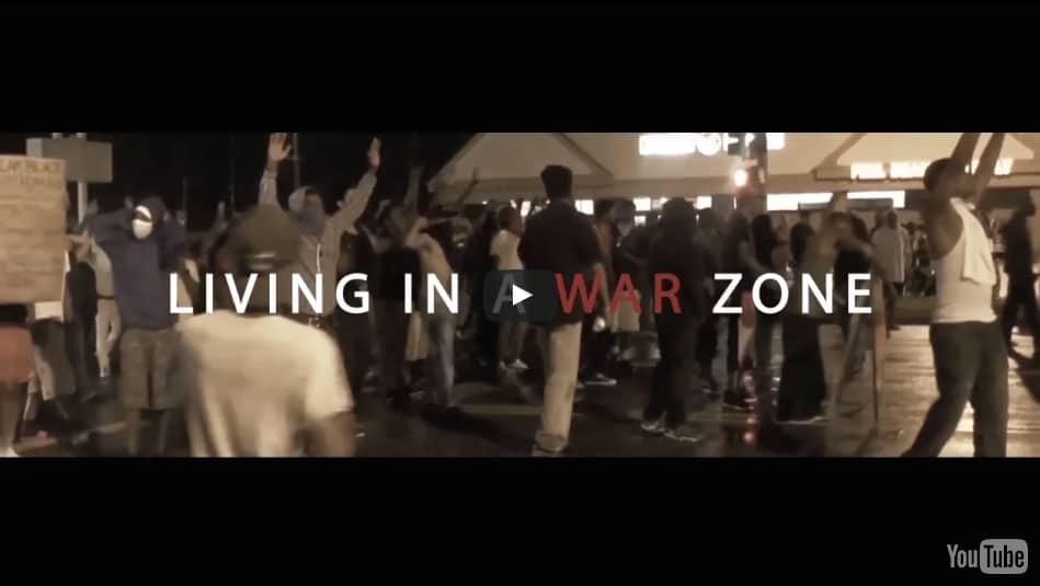 LIVING IN A WAR ZONE